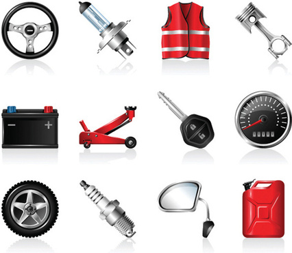 car peripheral products icon11 vector