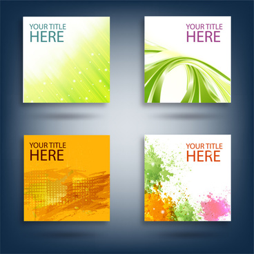 card abstract background collections