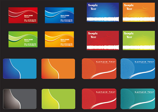 creative id card design background template free vector download