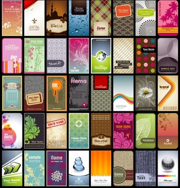 card background templates colorful modern classic themes
