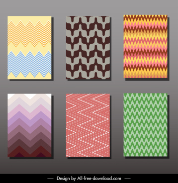 card cover templates abstract delusion decor