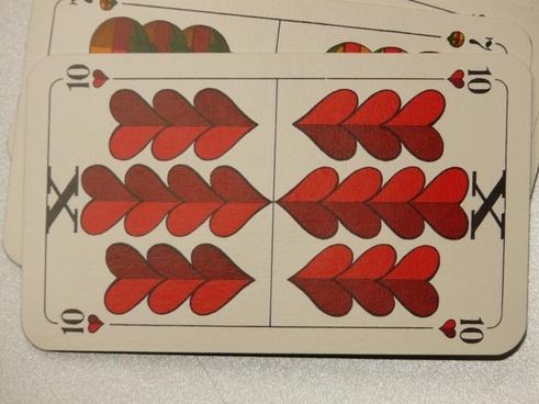 card game cards ten
