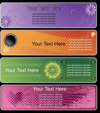 card background templates flowers heart technology themes decor