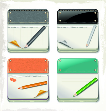 cardboard cards vector