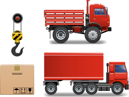 cargo transport vehicle truck equipment