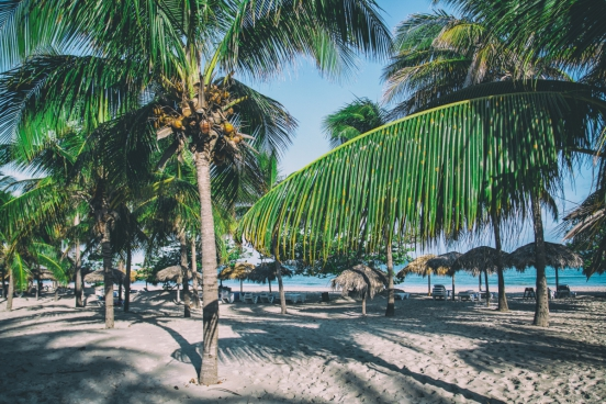 caribbean beach cuba