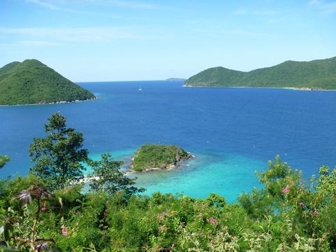 caribbean island ocean