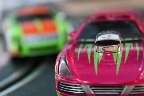 carrera auto red
