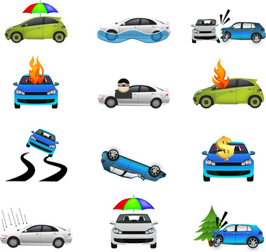 cars icons collections