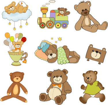 cartoon baby clipart cute design