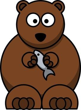 Cartoon Bear clip art