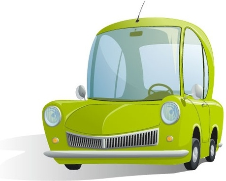 cartoon car illustrator 01 vector