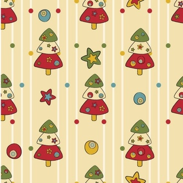 cartoon christmas design background 04 vector