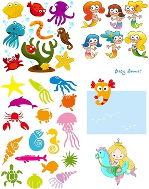 cartoon clip art marine