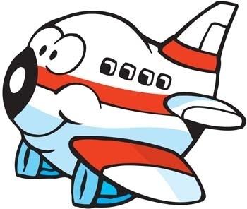 Cartoon Commercial Flight