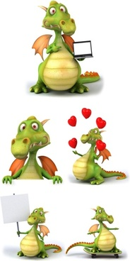 cartoon dragon highdefinition picture