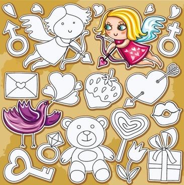cartoon illustration vector