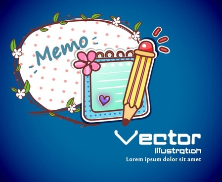 cartoon label background 01 vector