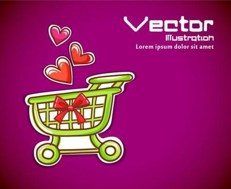 cartoon label background 02 vector