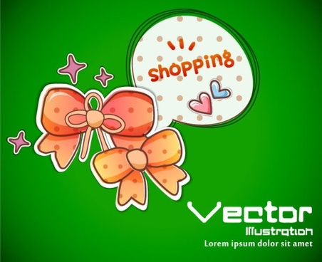 cartoon label background 04 vector