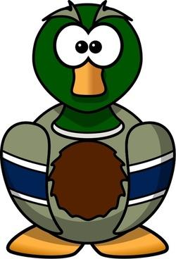 Cartoon Mallard