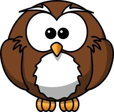 Cartoon Owl clip art