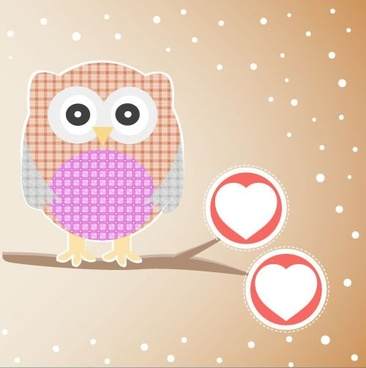cartoon owl vector illustration bird children39s drawings