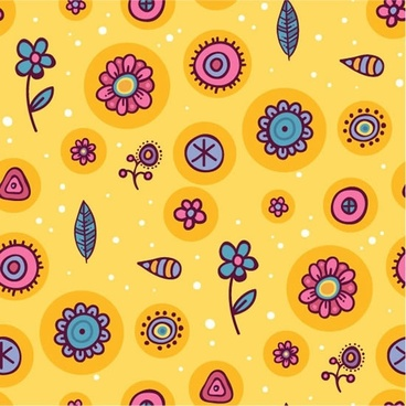cartoon pattern background shading pattern vector