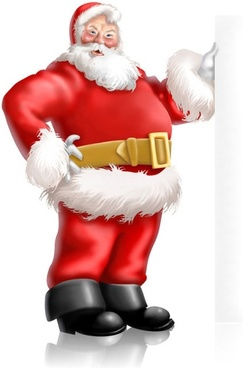 cartoon santa claus 02 hd pictures