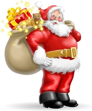 cartoon santa claus 04 hd pictures