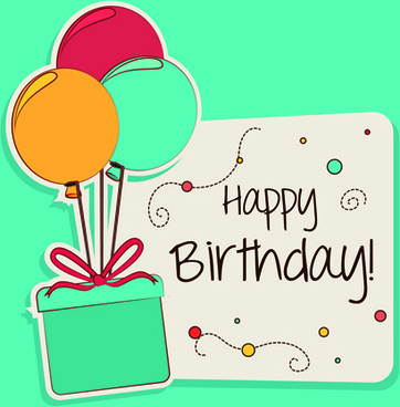 Happy birthday greeting cards free vector download (15,611 Free ...