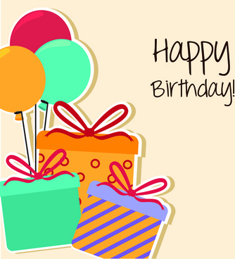 Happy birthday greeting cards free vector download 15705 free cartoon style happy birthday greeting card template m4hsunfo