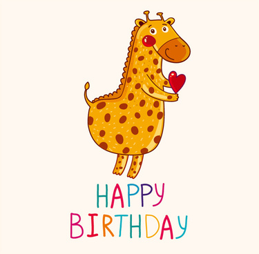cartoon styles birthday background vectors
