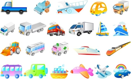 Cartoon Transport Free Vector Download (18,905 Free Vector