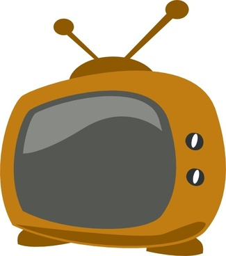 Cartoon Tv clip art