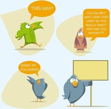 cartoon vector illustration dialog