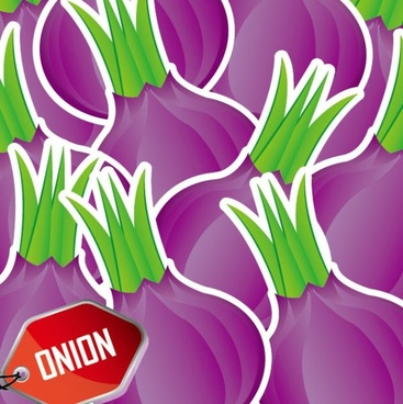cartoon vegetables background 04 vector
