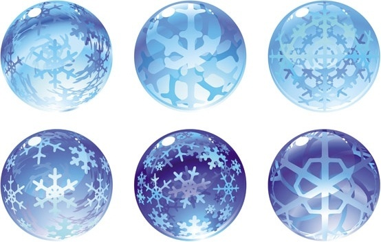 carved snow globe vector