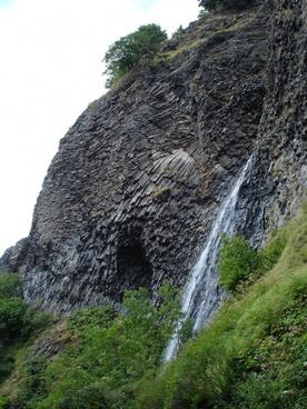cascade du ray pic ardeche france