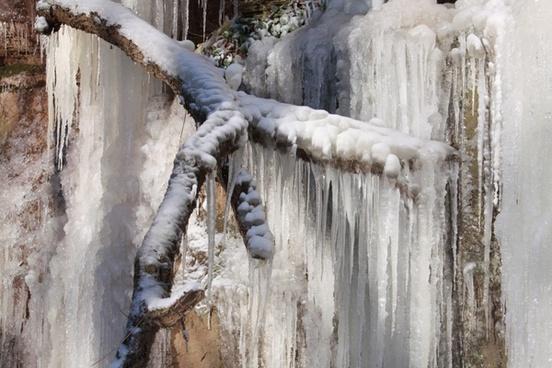 cascade ice cascada