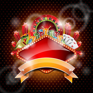 casino backgrounds vector