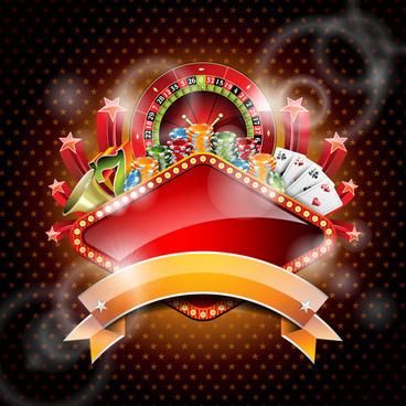 casino backgrounds vector