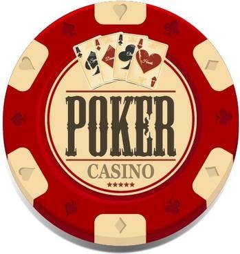 casino elements creative design vector