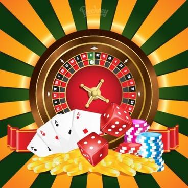 casino poster illustration
