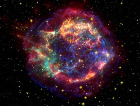 cassiopeia a cas a supernova rest