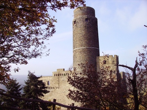 castle germany middle rhine