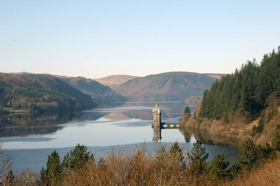 castle lake vyrnwy
