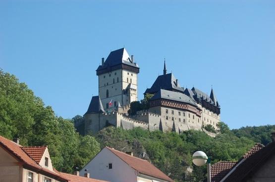 castle monument the czech republic