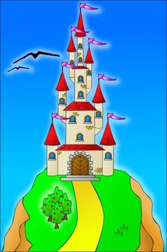 Castle On The Hill clip art