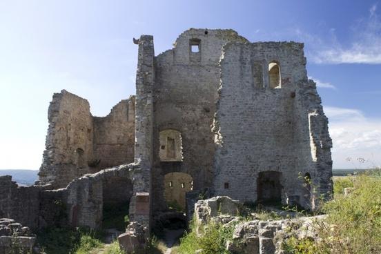 castle ruin old castle